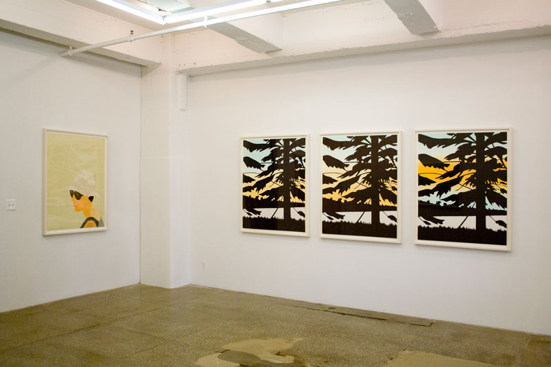 Installation View: Alex Katz: Figure Ground