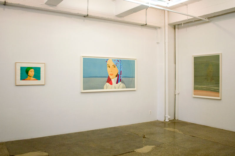 Installation View: Alex Katz: Figure/ Ground