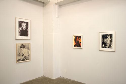 Installation: Elizabeth Peyton and Andy Warhol