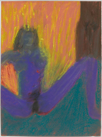 Lucas Samaras, Untitled May 20, 1960 Pastel on paper, 13 x 10 inches