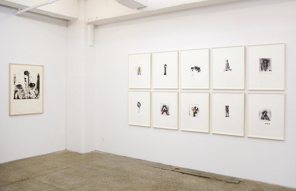Installation View: Jim Dine: Tools
