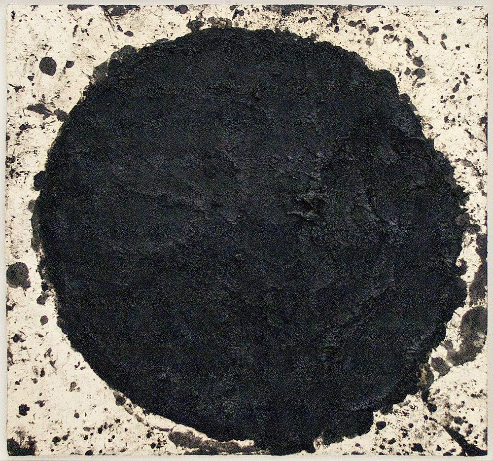 Richard Serra Untitled 1998 oilstick on paper 39 3/4 x 41 1/2 inches