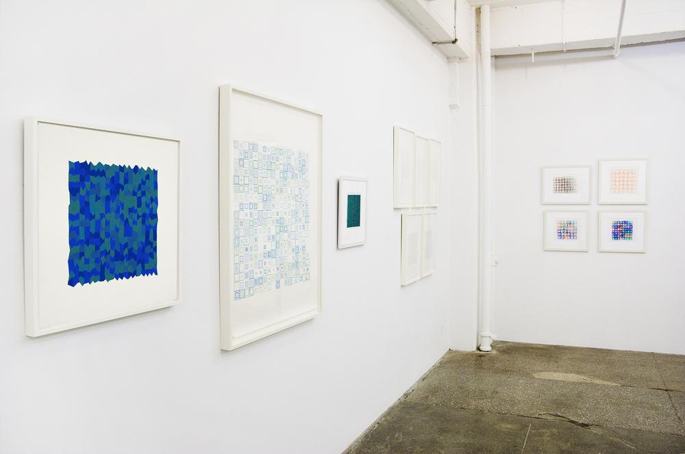 Installation View: Vera Molnar: Regarding the Infinite