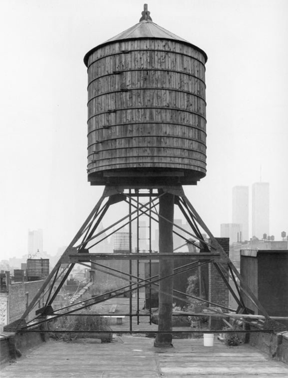 Water Towers: New York City: 25 E 4th Street