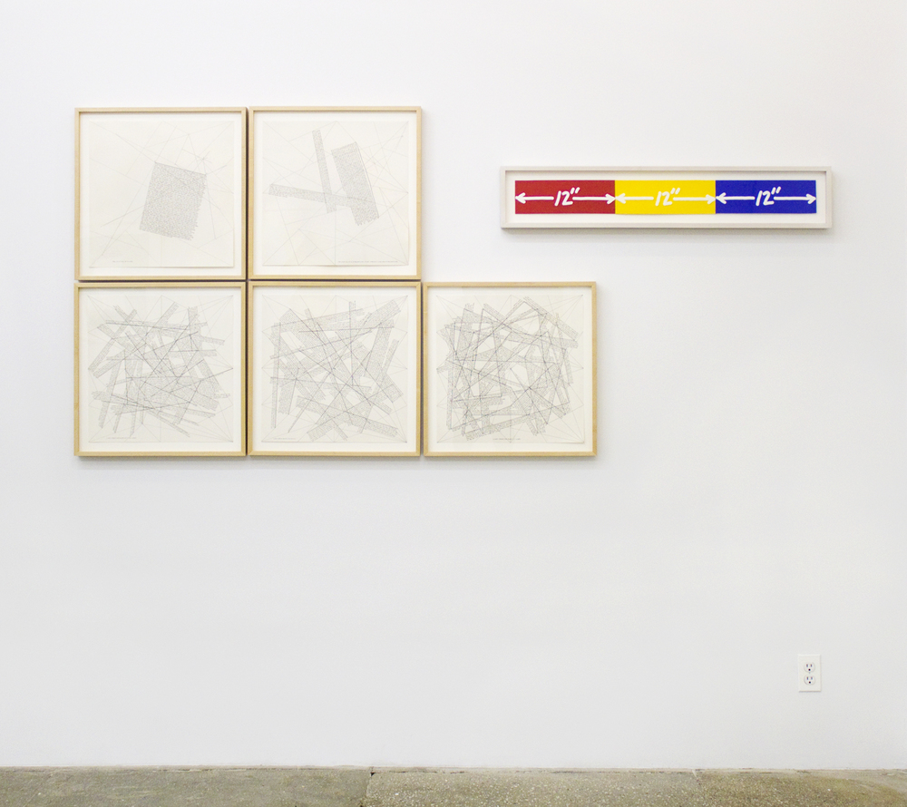 Installation View: From Point to Line