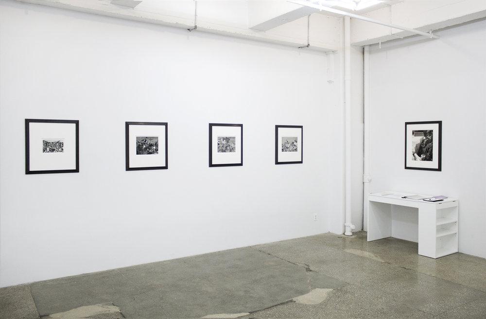 Installation View: Bruce Conner: Dennis Hopper ONE MAN SHOW