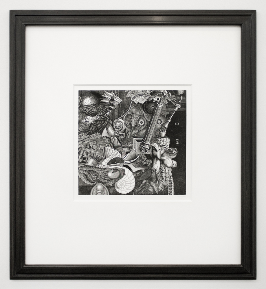 Bruce Conner  DENNIS HOPPER ONE MAN SHOW, Volume Two: IV  1972 photo etching 19 9/16 x 16 5/8 inches artist's proof