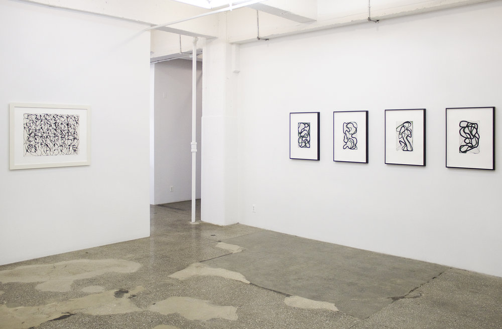 Installation View: Brice Marden: Prints