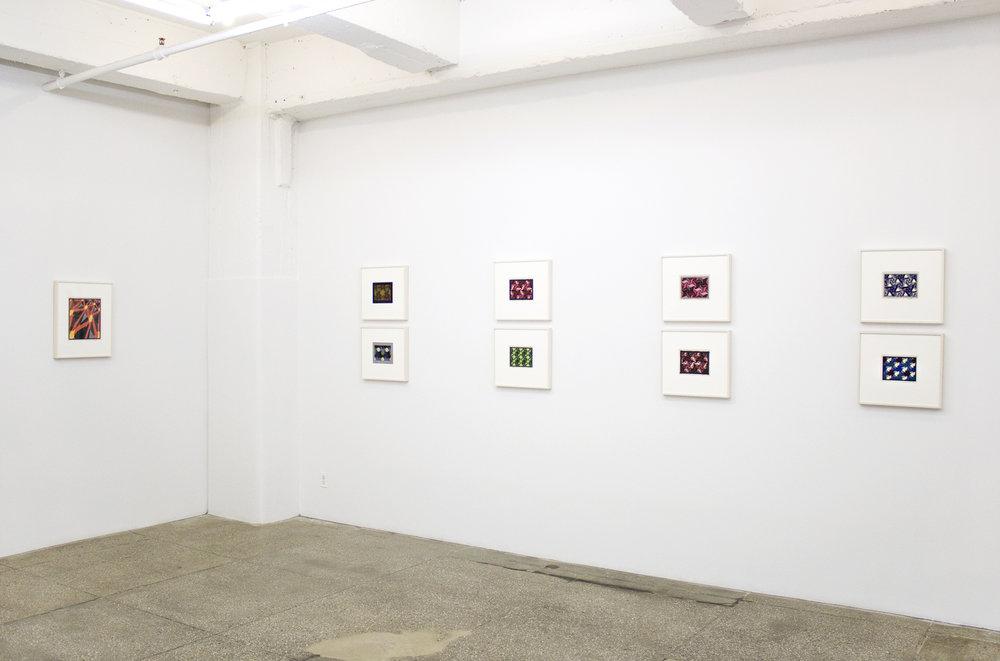 Installation View: Hans Hinterreiter: Constructivist Compositions 1932-1982