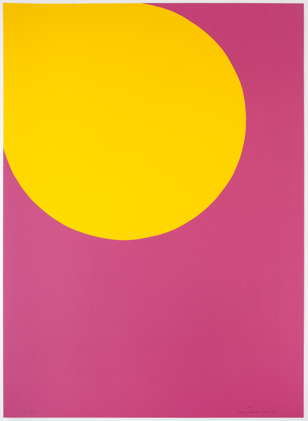 Leon Polk Smith (American, 1906-1996) Color Forms (F), 1974 Screenprint 33 x 23 1/4 inches