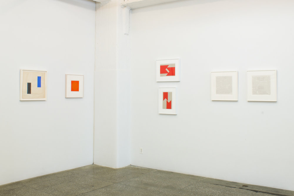 Installation View: Vera Molnar: Drawings 1949-1986
