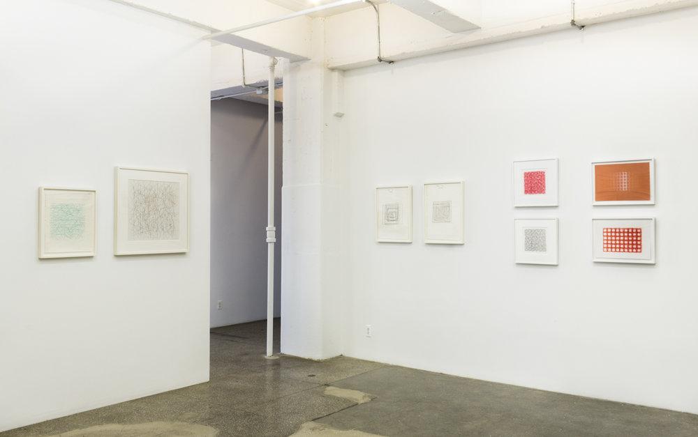 Installation View: Vera Molnar 1949-1986