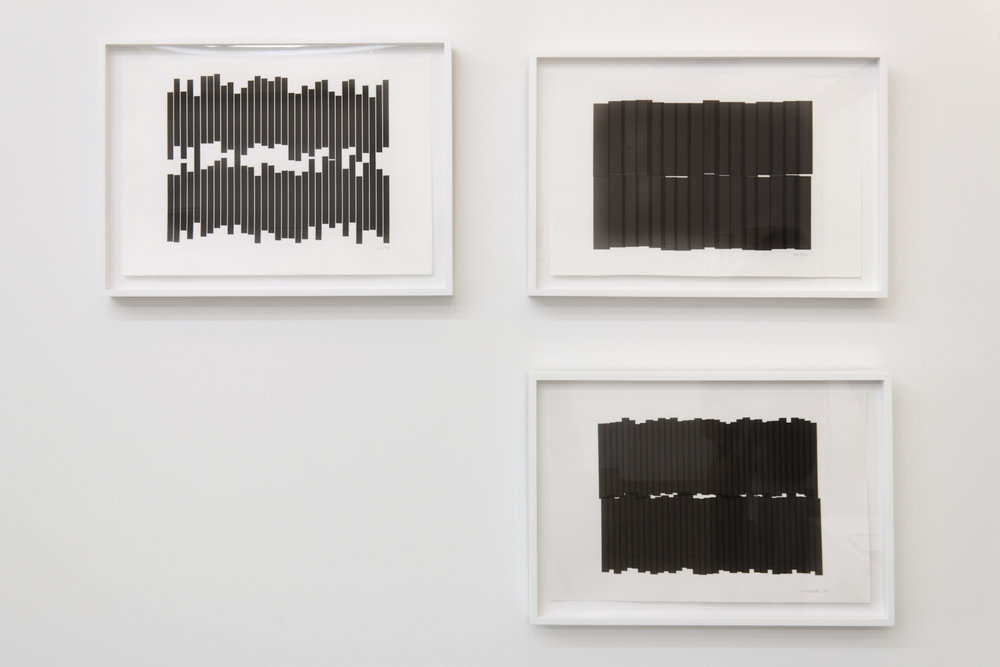 Installation Views: Vera Molnar Drawings 1949-1986