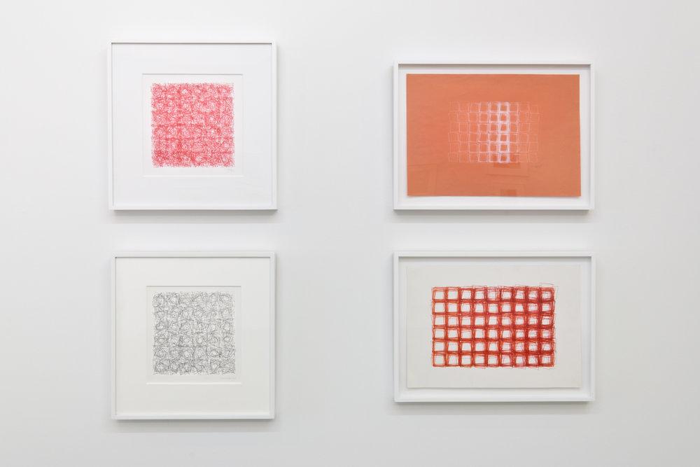 Installation View: Vera Molnar Drawings 1949 - 1986
