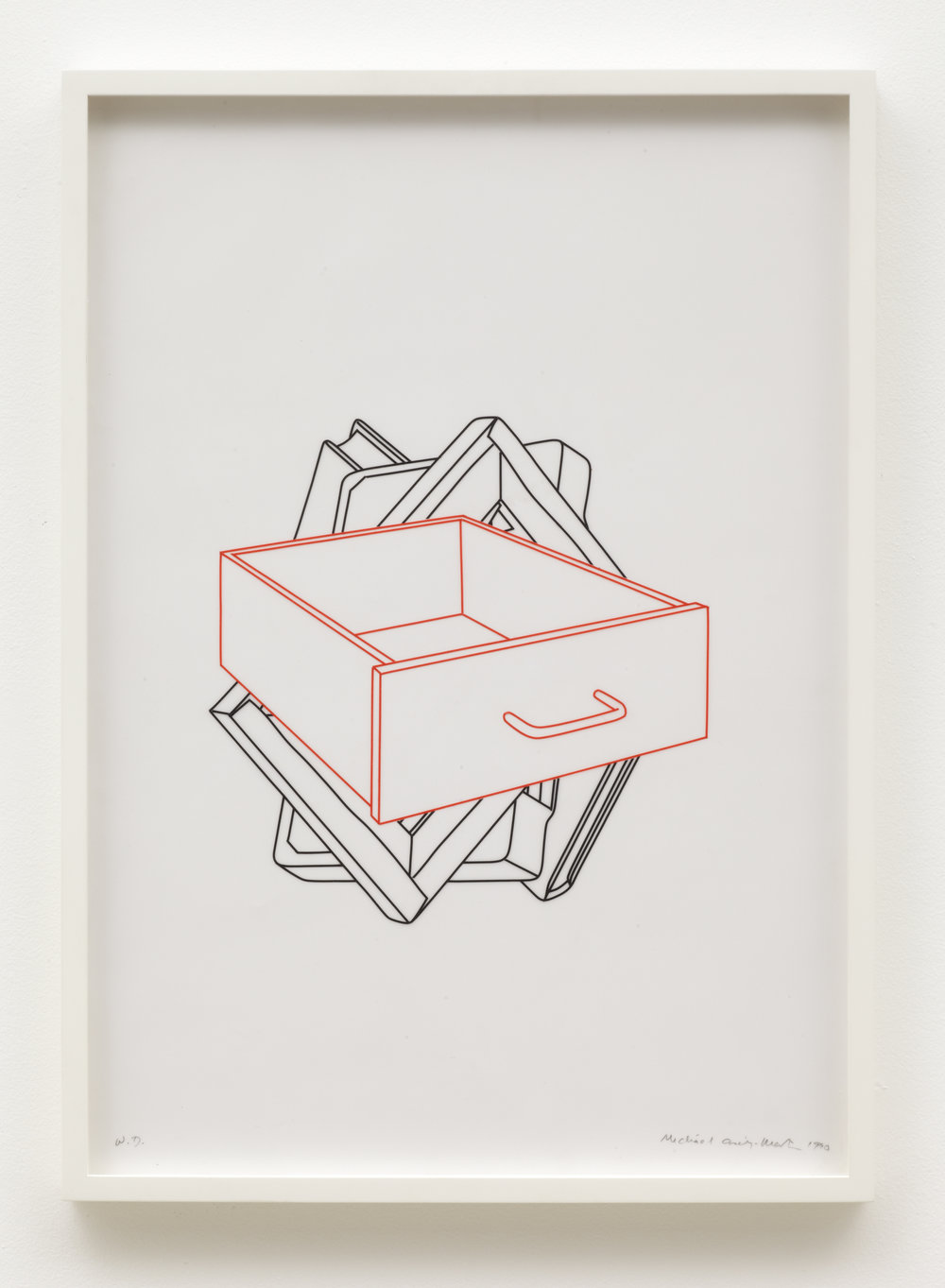 Study for Order of appearance (drawer)
