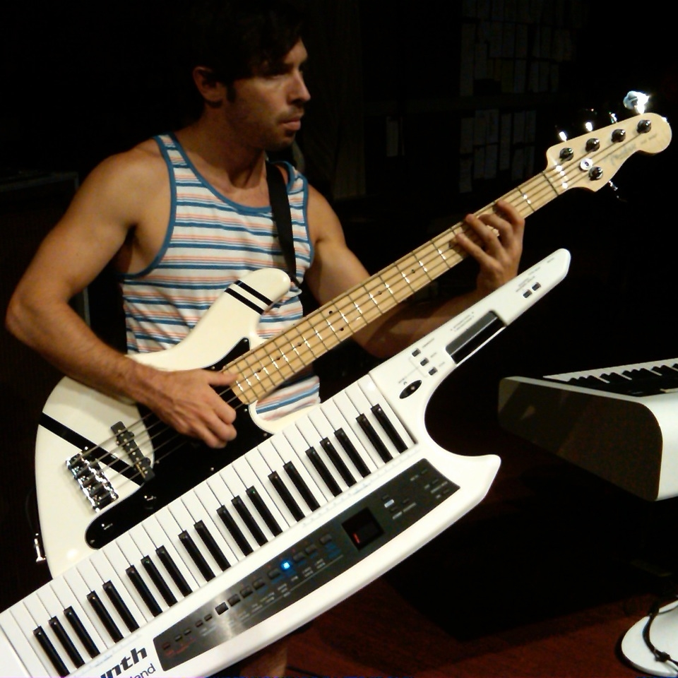 Pre Production with Patrick Stump playing the Mega-Bass.  Designed by Patrick himself.