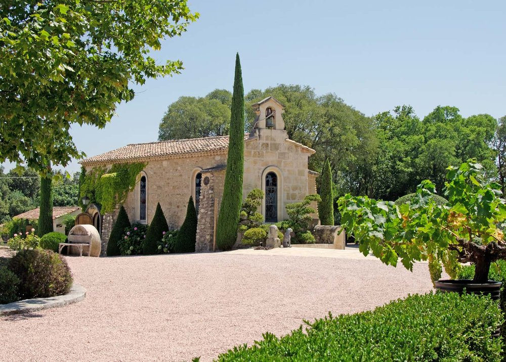 Chapel Chateau d'Estoublon