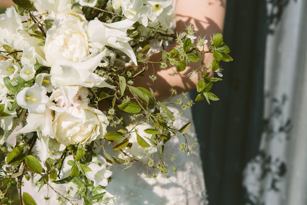 Spring Bridal Bouquet Vervain