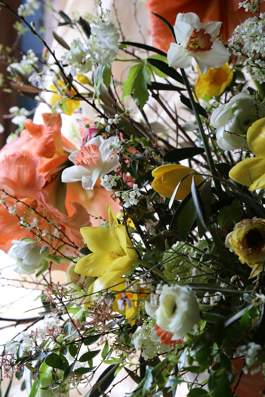 Vervain spring amaryllis wedding flowers 03