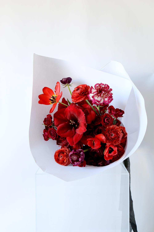 vervain valentines bouquet 2017