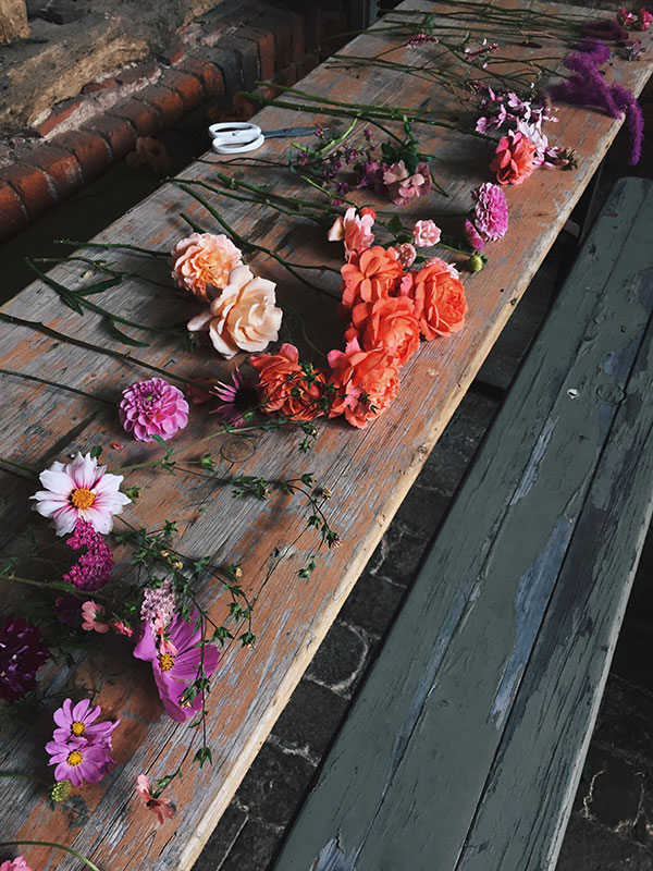 summer garden bridal class