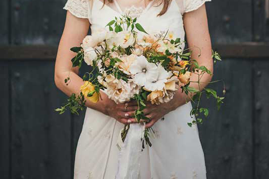 best of summer bridal bouquet
