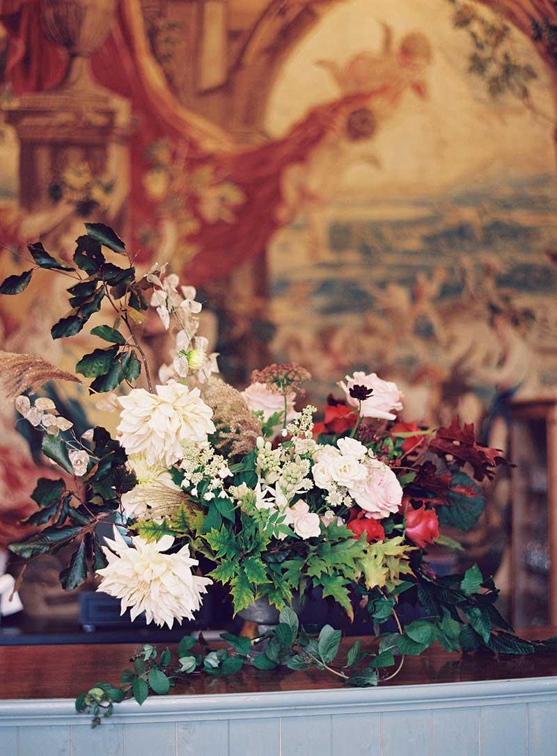Vervain Unique Wedding Floral design St Giles House Dorset