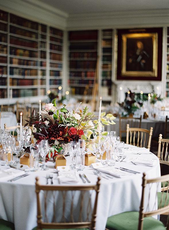 Vervain St Giles House Dorset Wedding Flowers