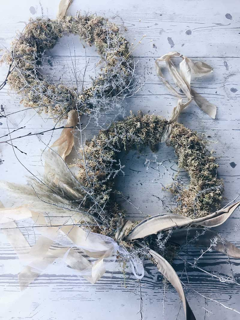 vervain December 2018 wreath classes