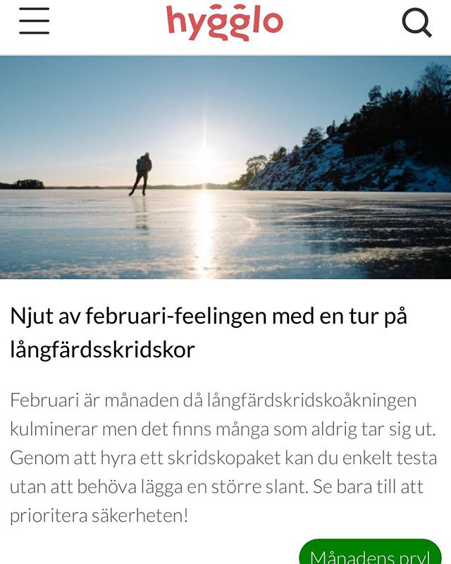 Try @we_are_hygglo when you need something you don't want to buy! Or if you own something you don't always use. Photo by me from our day at lake Båven two weeks ago. - #work #play #ice #iceskating #skates #båven #winter #lake #frozen #wintersport #outdoor #outdoors #nature #white #vinter #weather #sky #is #långfärdsskridskor #skridskor #snö #vintersport #friluftsliv #fjärd #sjö #utomhus #prylsvinn