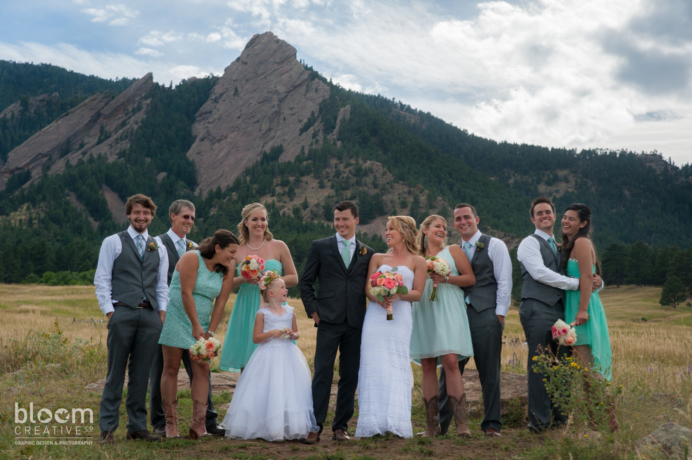BoulderWeddingWeddingPartyChataqua