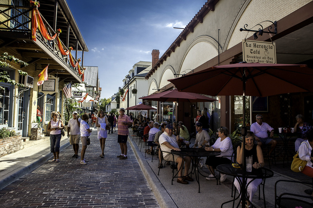 ST. AUGUSTINE STREETSCAPES