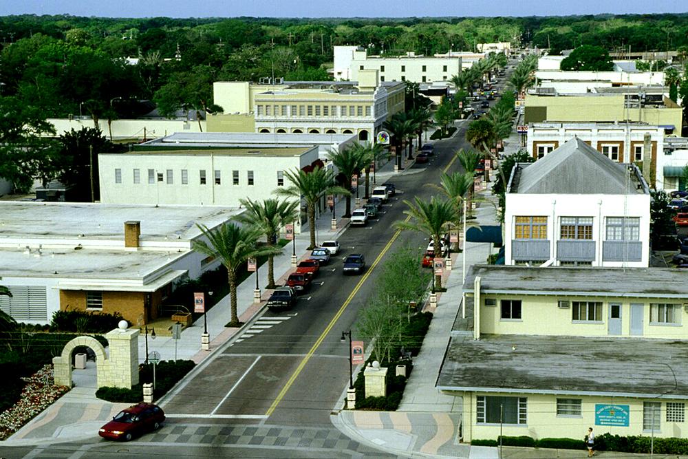 PEDESTRIAN ORIENTED STREETS