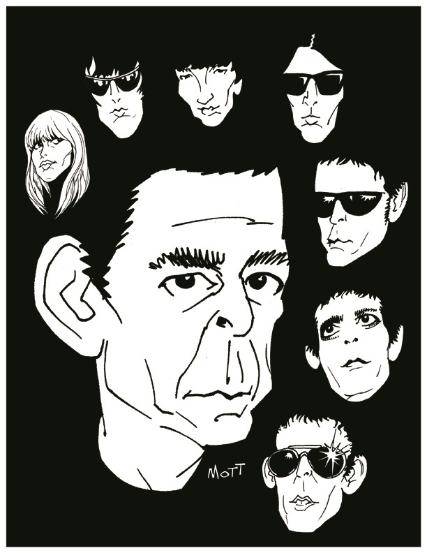 LL Tribute to Lou Reed and the music of the Velvet Underground