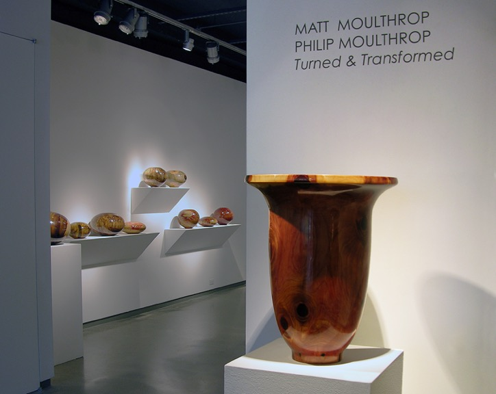 PHILIP & MATT MOULTHROP: TURNED & TRANSFORMED: NOVEMBER 17 – DECEMBER 22, 2017