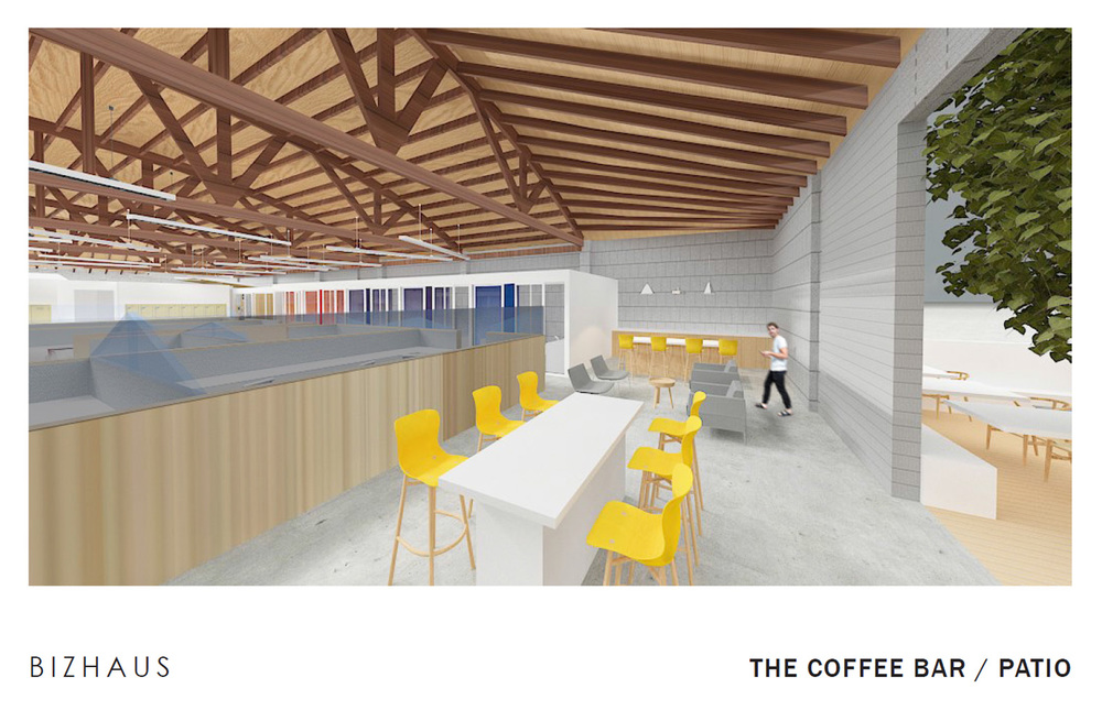 Office offbeat interior design Designs Urbanist Since The Transformation Of The El Segundo Industrial District Into Fashionable Enclave Of Offbeat Office Buildings And Studios The Area Has Become Bird Office South Bay Bizhaus Coworking