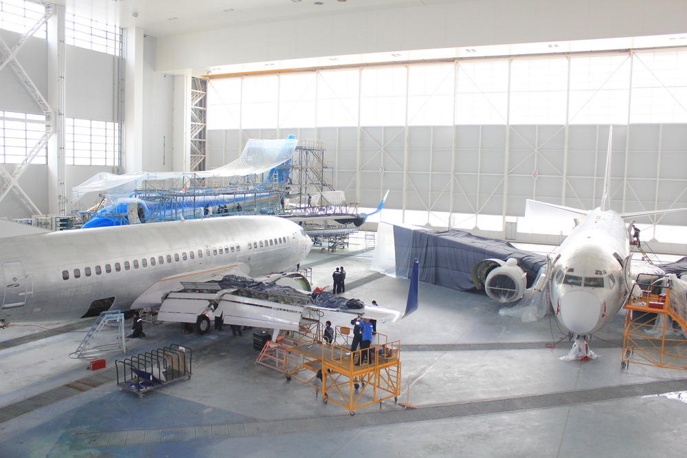 Boeing 737 Next Gen. MRO, C & D Checks