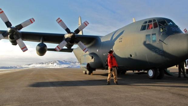 Lockheed Martin C-130 @ NORAD Rankin Inlet Airport FOL