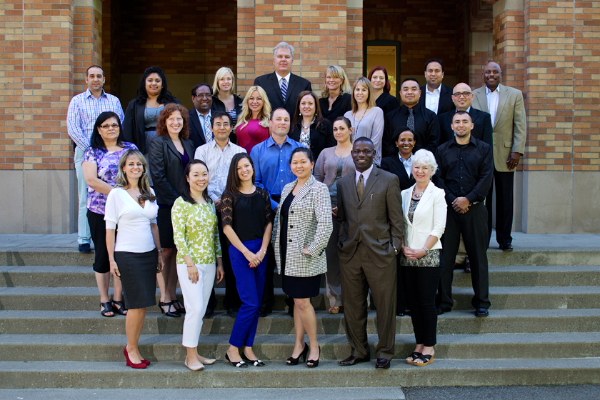 The 2013 class of the Foster School of Business Minority Business Executive Program