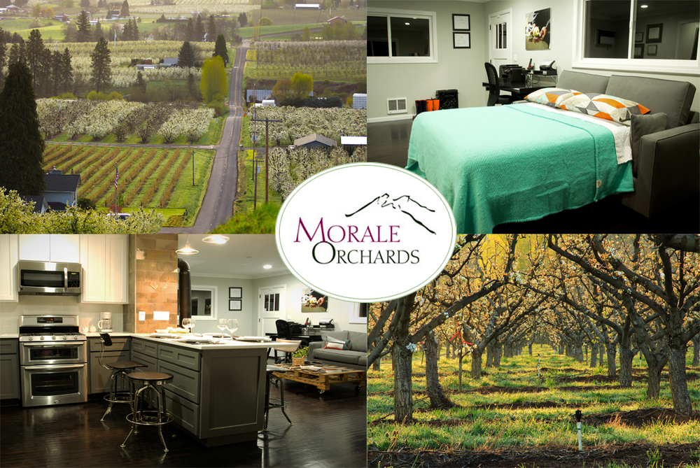 Know Your Fruit: 2 Night Pear Orchard Stay at Morale Orchards