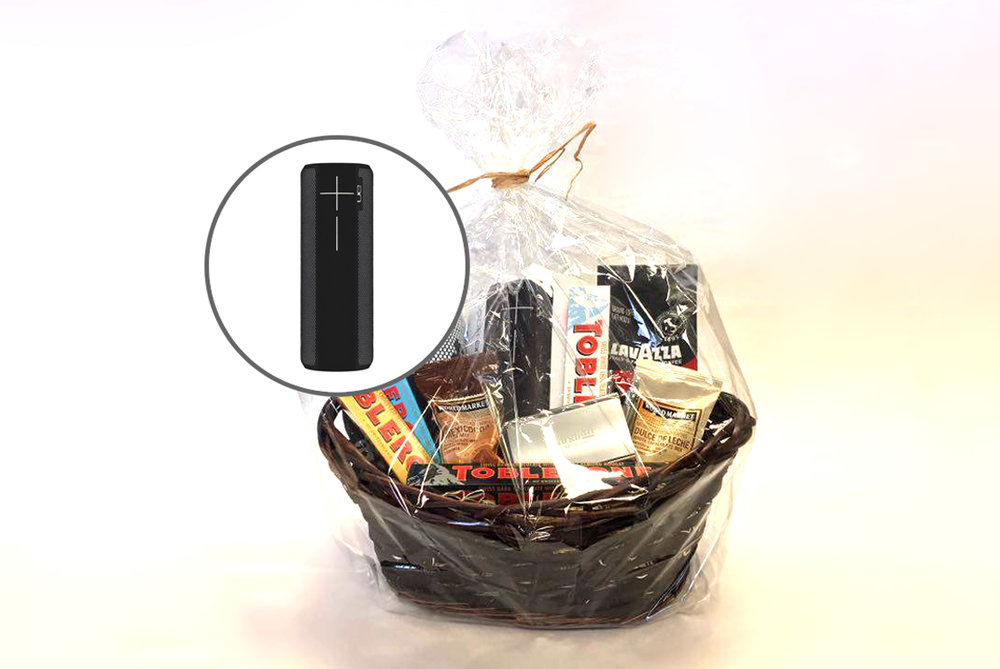 Magellan Architects: Gift Basket with UE Boom 2 Wireless Speaker