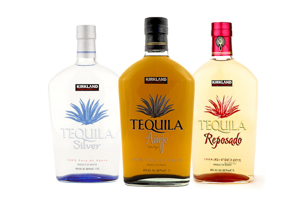 Costco Wholesale: Set of 3 Kirkland Tequila