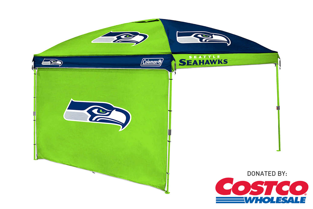 Costco: 10' x 10' Seahawks Canopy with Wall