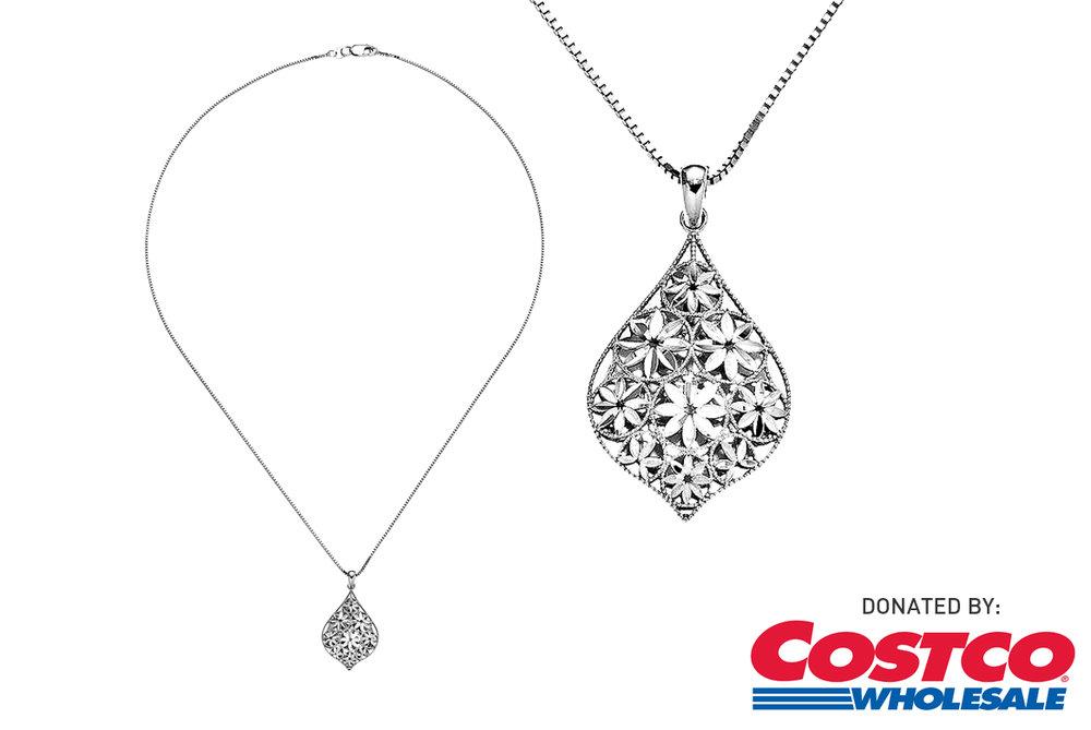 Costco: 14K White Gold Necklace