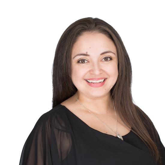 Mayra Rivera, Manger of Operations, NWM MSDC. Headshot by Mike Nakamura.
