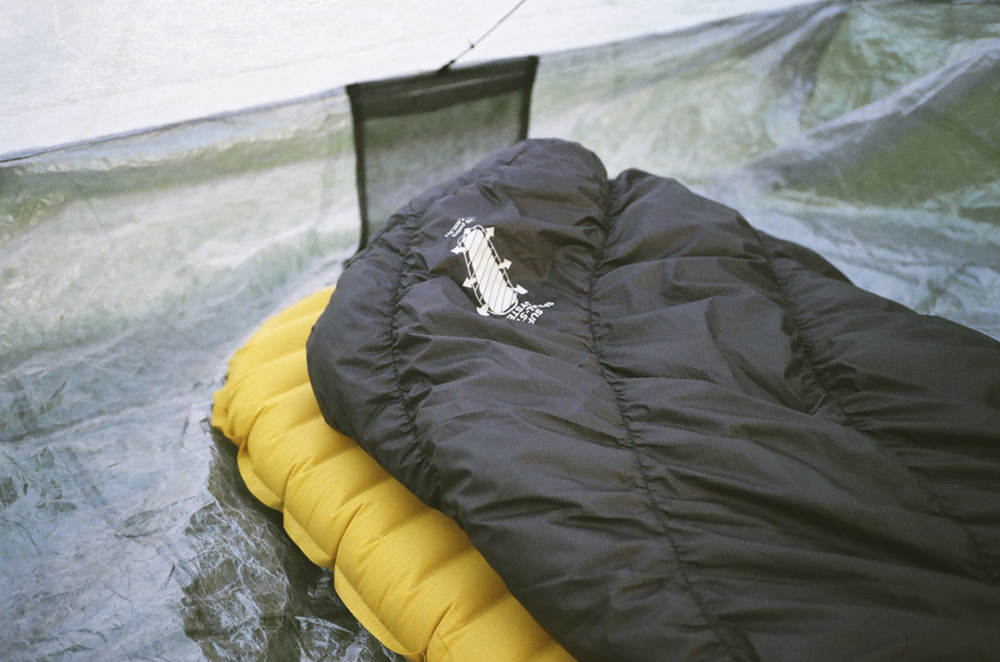 Montbell Downhugger 900 #2 and Thermarest NeoAir Xlite pad
