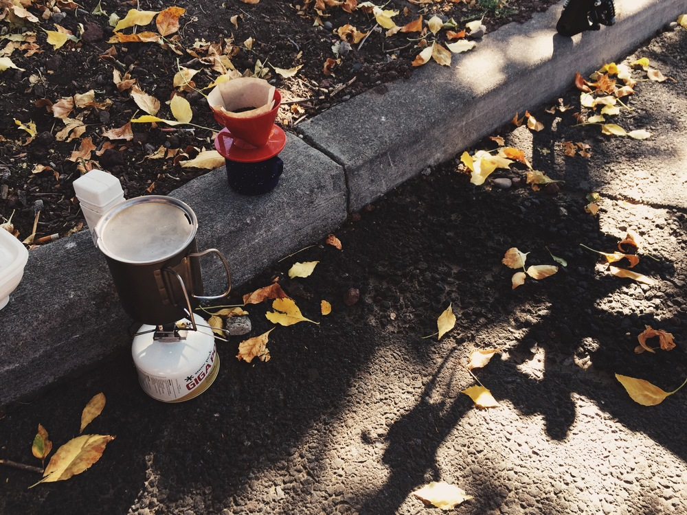 #coffeeoutside - Kfalls (photo by Goo)