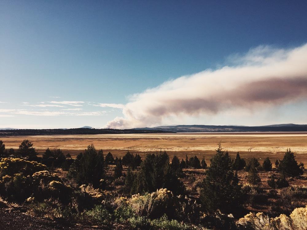 wildfire (photo by Goo)