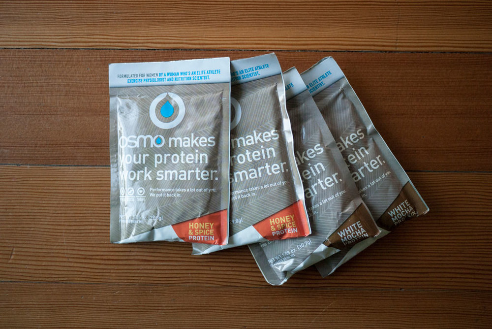 OSMO protein single serve packets