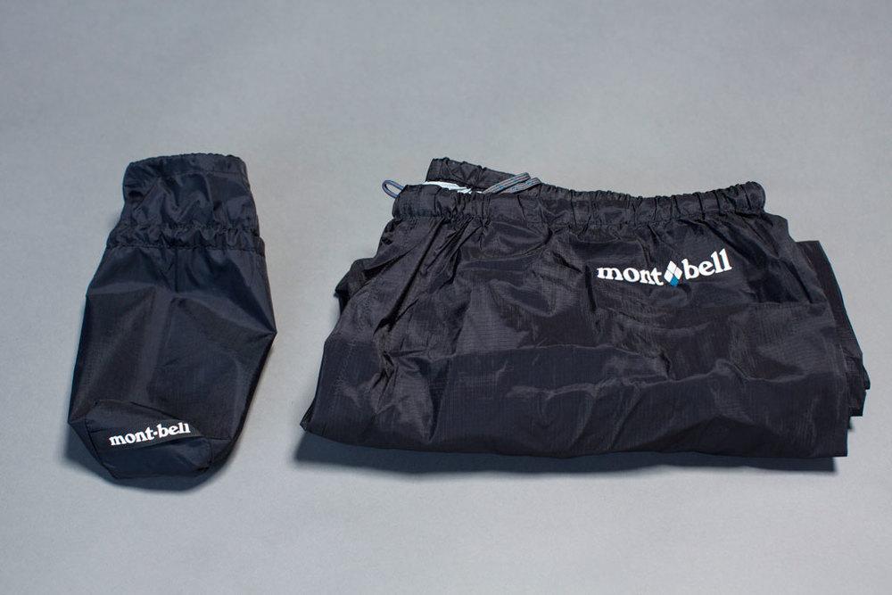 Montbell Peak Shell Pants